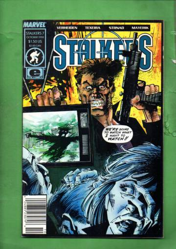 Stalkers Vol. 1 #7 Oct 90