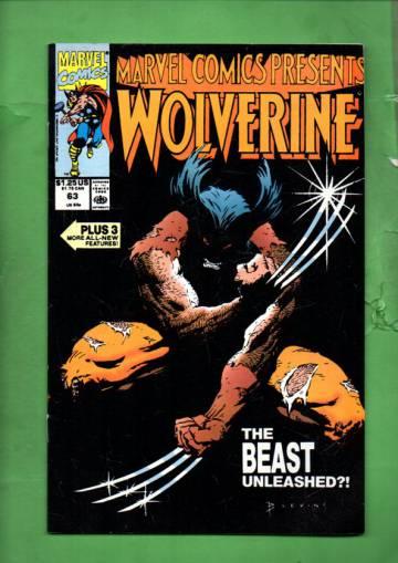 Marvel Comics Presents Vol. 1 #63 90
