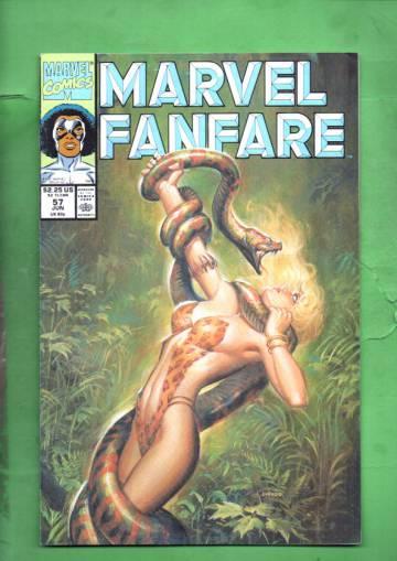 Marvel Fanfare Vol. 1 #57 Jun 91