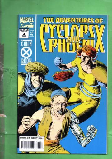Adventures of Cyclops and Phoenix Vol. 1 #4 Aug 94