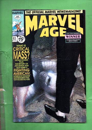 Marvel Age Vol. 1 #83 Mid-Dec 89