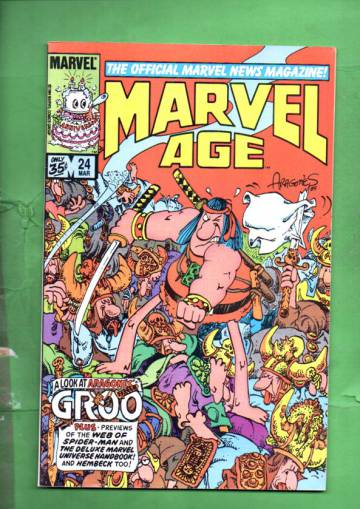 Marvel Age Vol. 1 #24 Mar 85