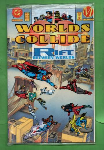 Worlds Collide #1 Jul 94 (avaamaton pakkaus, sisältää liitteen)