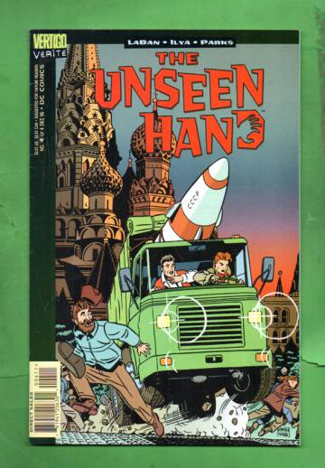 Vertigo Vérité: The Unseen Hand #4 Dec 96