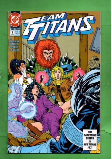 Team Titans #7 Apr 93