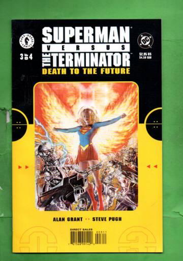 Superman vs. The Terminator: Death to the Future #3 Feb 00
