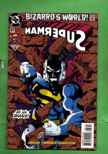 Superman #87 Mar 94
