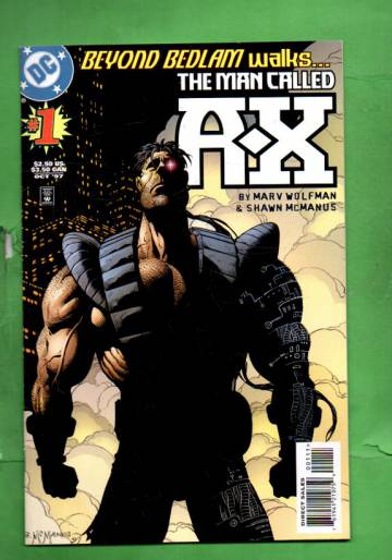 The Man Called A-X #1 Oct 97
