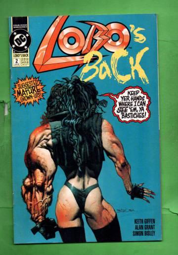 Lobo's Back #2 Jun 92
