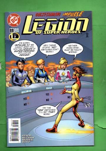 Legion of Super-Heroes #88 Jan 97