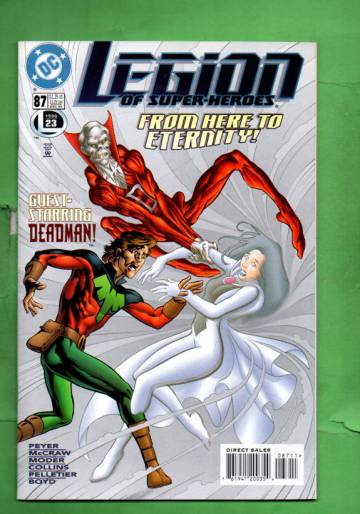 Legion of Super-Heroes #87 Dec 96