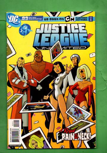 Justice League Unlimited #23 Sep 06