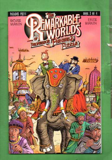 The Remarkable Worlds of Phineas B. Fuddle #3