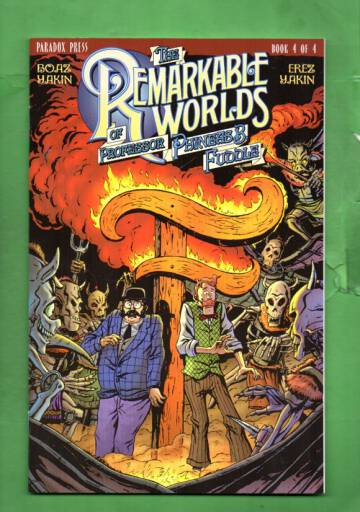 The Remarkable Worlds of Phineas B. Fuddle #4