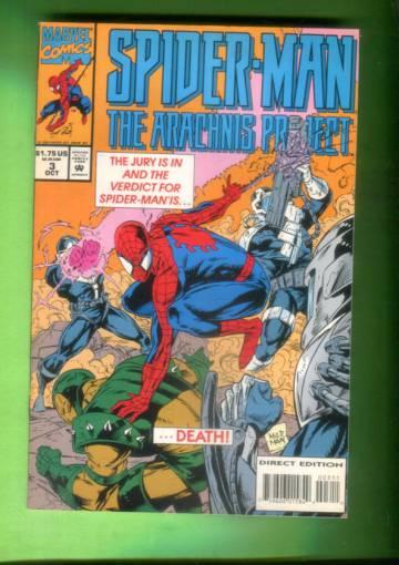 Spider-Man The Arachnis Project #3 Oct 94