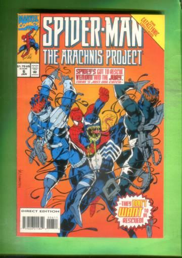Spider-Man The Arachnis Project #6 Jan 95