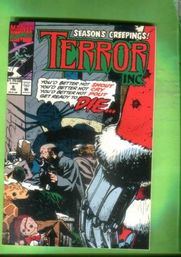 Terror Inc. Vol. 1 #8 Feb 93