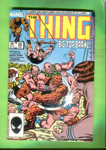 The Thing Vol 1 #26 Aug 85
