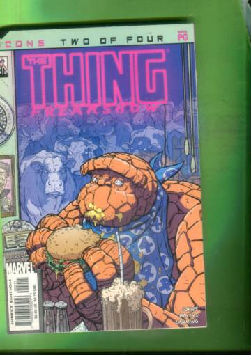 The Thing: Freakshow Vol. 1 #2 Sep 02