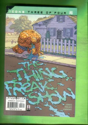 The Thing: Freakshow Vol. 1 #3 Oct 02