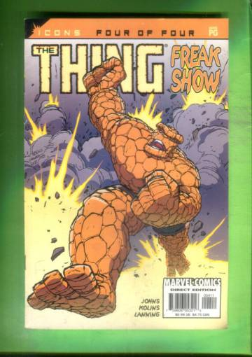 The Thing: Freakshow Vol. 1 #4 Nov 02