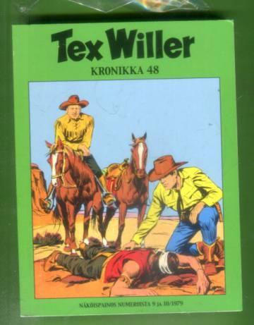 Tex Willer -kronikka 48 - Rauha vaarassa / Kilpailijat