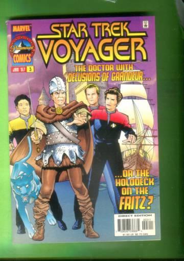 Star Trek  Voyager Vol 1 #3 Jan 97