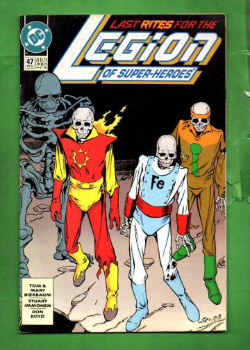 Legion of Super-Heroes #47 Sep 93