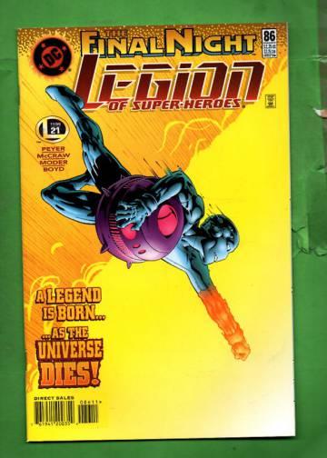 Legion of Super-Heroes #86 Nov 96