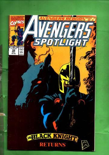 Avengers Spotlight Vol. 1 #39 Dec 90