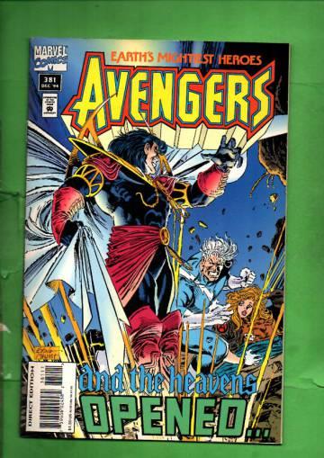 Avengers Vol. 1 #381 Dec 94