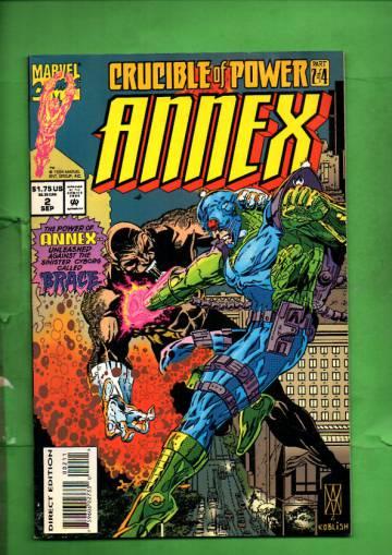 Annex Vol 1 #2 Sep 94