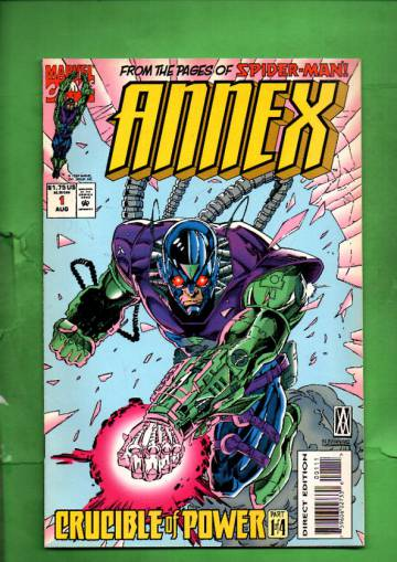 Annex Vol 1 #1 Aug 94
