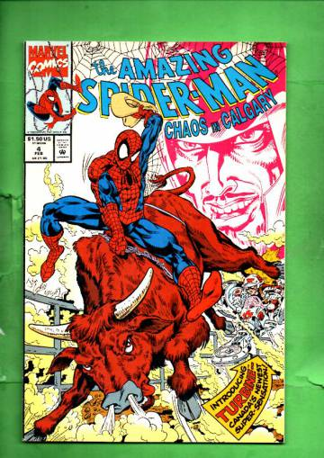 The Amazing Spider-Man: Chaos in Calgary Vol. 1 #4 Feb 93