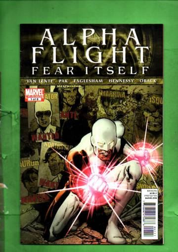 Alpha Flight #1 Aug 11