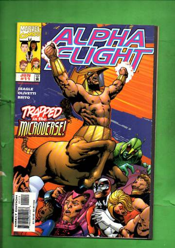 Alpha Flight Vol. 2 #11 Jun 98