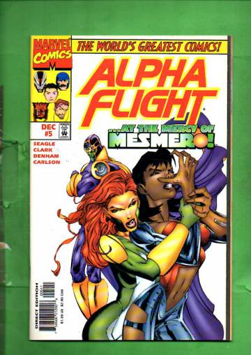 Alpha Flight Vol. 2 #5 Dec 97