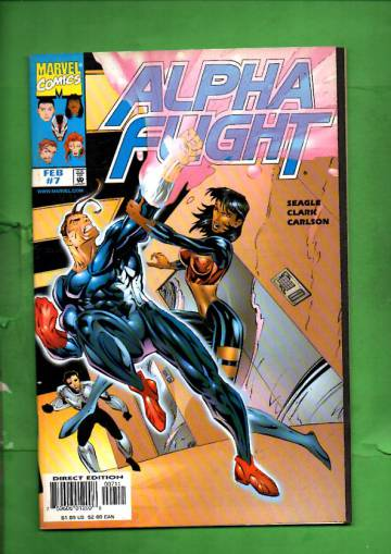 Alpha Flight Vol. 2 #7 Feb 97