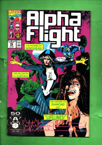 Alpha Flight Vol 1 #95 Apr 91