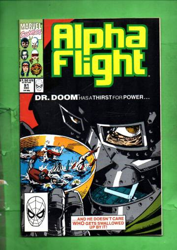 Alpha Flight Vol. 1 #91 Dec 90