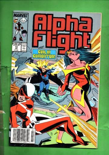 Alpha Flight Vol 1 #72 Jul 89