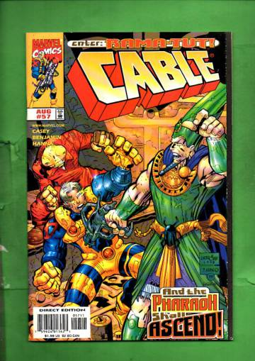 Cable Vol 1 #57 Aug 98
