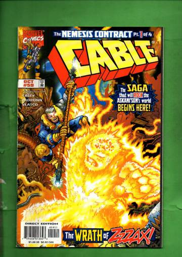 Cable Vol 1 #59 Oct 98