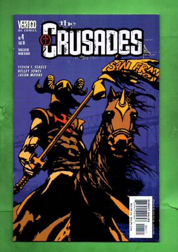The Crusades #4 Aug 01