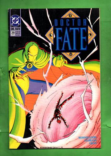 Doctor Fate #29 Jun 91