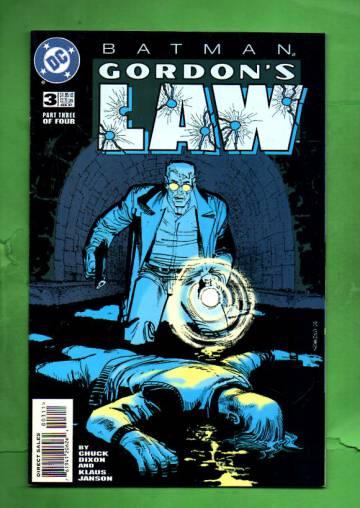 Batman: Gordon´s Law #3 Feb 97