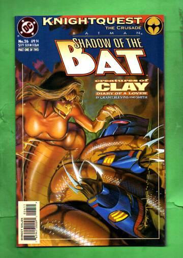 Batman: Shadow of the Bat #26 Apr 94