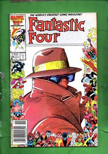 Fantastic Four Vol. 1 #296 Nov 86