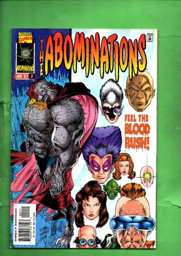 Abominations Vol. 1 #2 Jan 97