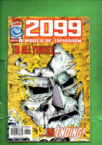 2099: World of Tomorrow Vol. 1 #8 Apr 97